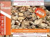 GROSSES CHUTES DE BOIS A REFENDRE - DESTOCKAGE ETS VROLAND 40 Orchies (59)