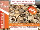GROSSES CHUTES DE BOIS A REFENDRE - DESTOCKAGE 40 Denain (59)