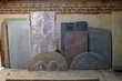 7 grosses poutres anciennes à prendre sur place + poteaux Bricolage