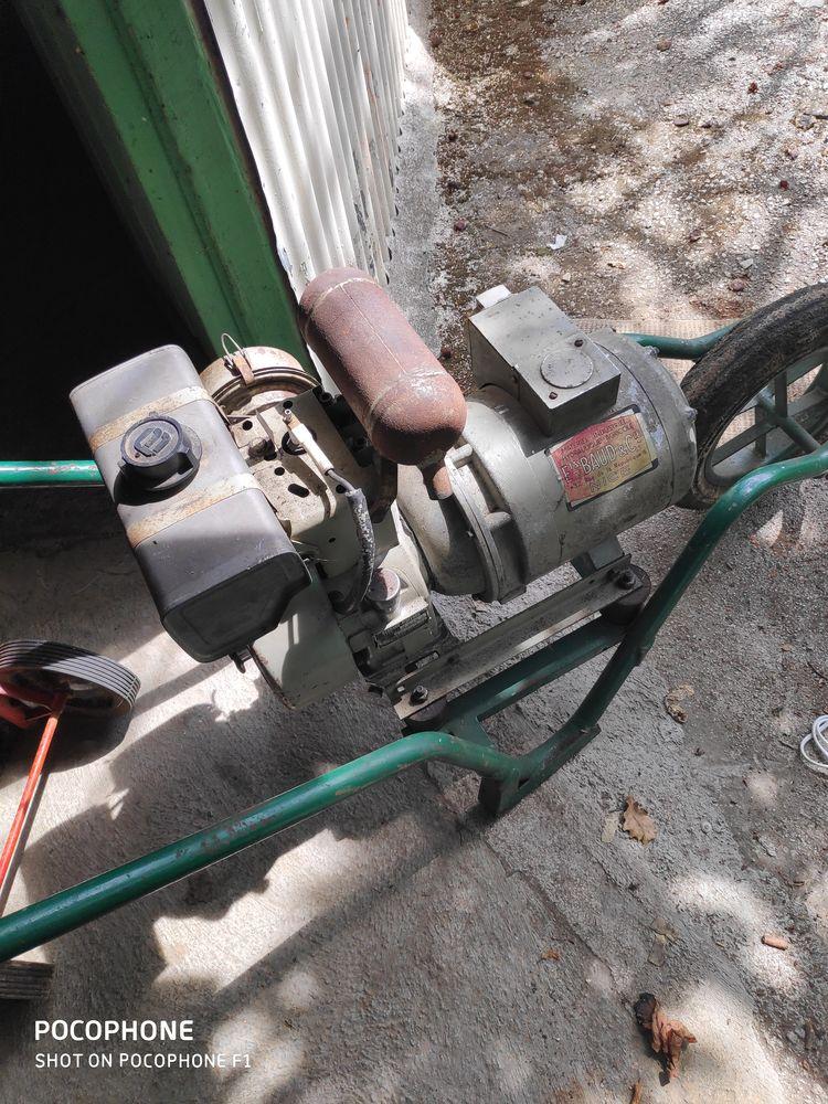 Groupe électrogène moteur bernard 250 Menton (06)