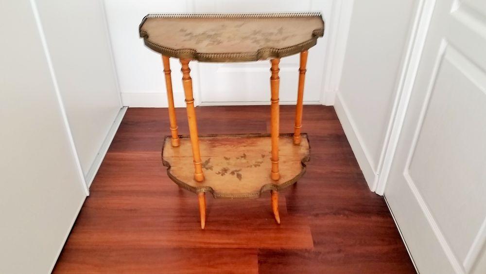 Guéridon sellette table Art Nouveau 1900 170 Arradon (56)