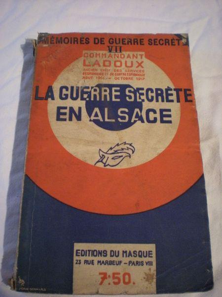 la guerre secrête en alsace du commandant ladoux 2 Bailleau-l'Évêque (28)