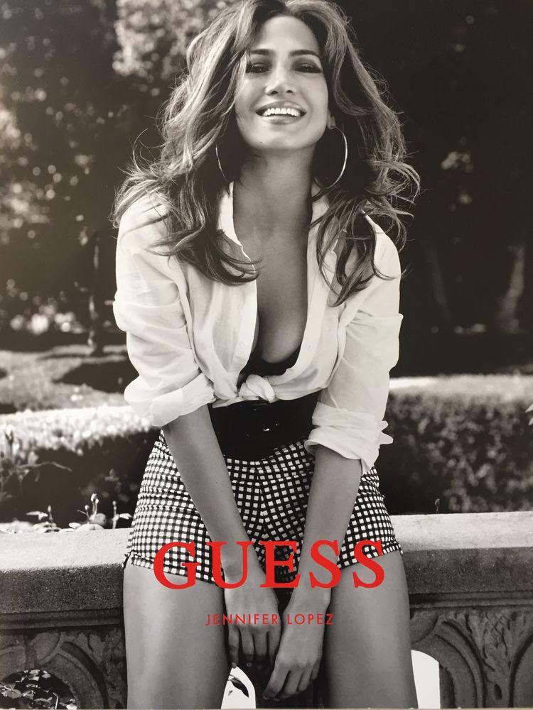 Guess catalogue spring 2018 Jennifer Lopez  20 Joué-lès-Tours (37)