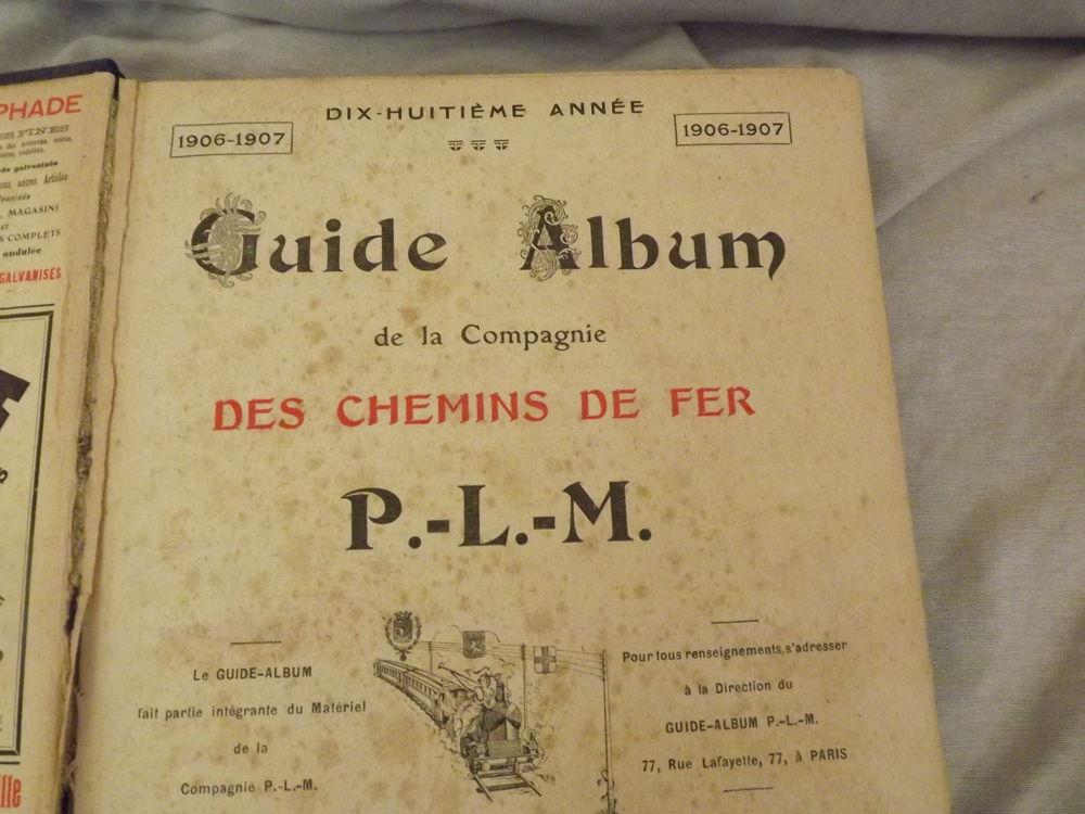 Guide album des chemins de fer PLM  50 Montpellier (34)