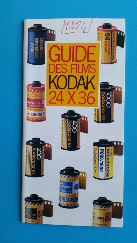 GUIDE DES FILMS KODAK 0 Bordeaux (33)