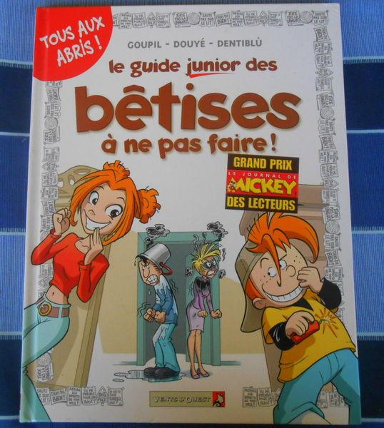 Le guide Junior des bêtises a ne pas faire 3 Mouans-Sartoux (06)