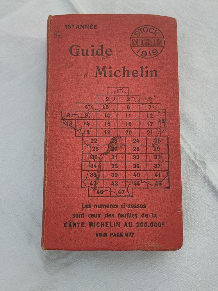Guide michelin année 1919 390 Avermes (03)