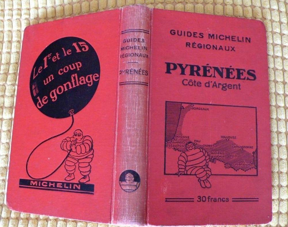 GUIDE MICHELIN régional PYRENEES COTE D'ARGENT  15 Rives (38)