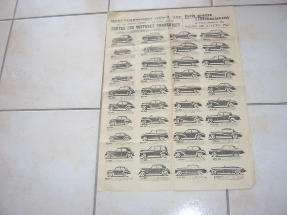 Guide Salon de l'auto 1951 10 Romagnat (63)