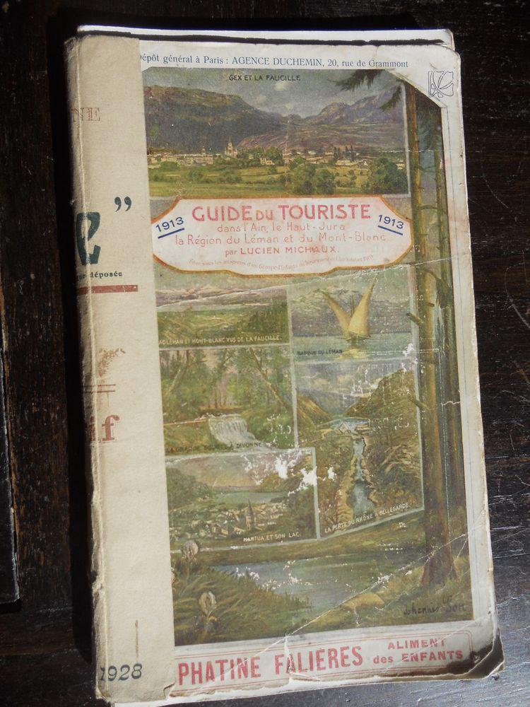 GUIDE DU TOURISTE DANS L'AIN.HAUT-JURA-.LÉMAN.MT BLANC 1913 9 Tours (37)