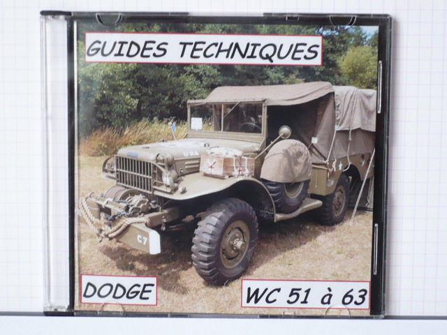 40 Guides notices techniques des Dodge WC 51 à 63 sur un CD CD et vinyles