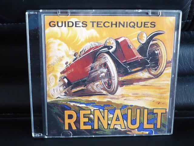 200 Guides techniques voitures anciennes Renault sur CD CD et vinyles