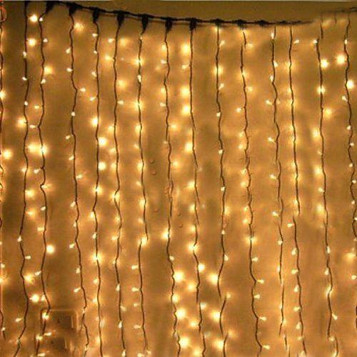 guirlande led rideau 3m blanc chaud fixe raccordabl 1 Cerisy-la-Salle (50)