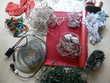 guirlandes électriques, père Noël,....