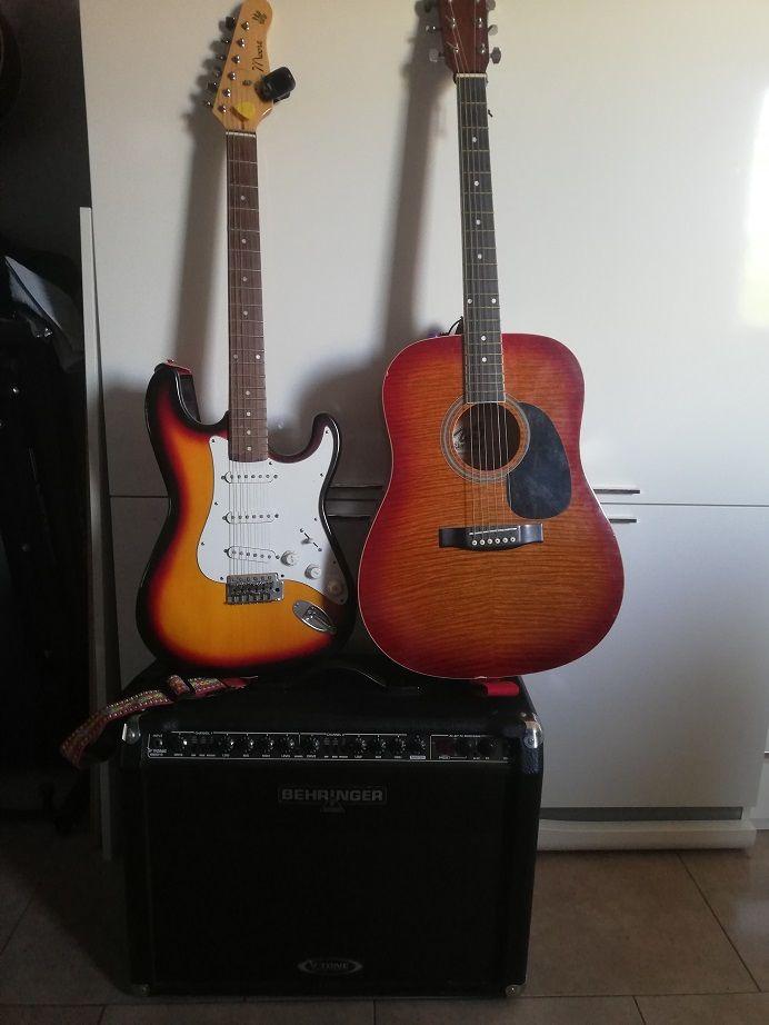 Guitare  et ampli 250 Nanterre (92)