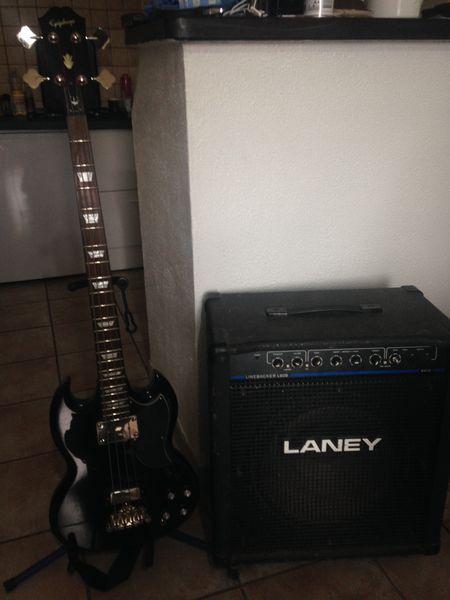 guitare basse epiphone très bon état 280 Les Milles (13)