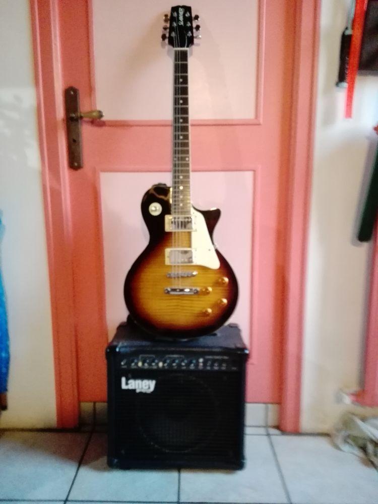 Guitare électrique +ampli 350 Merdrignac (22)