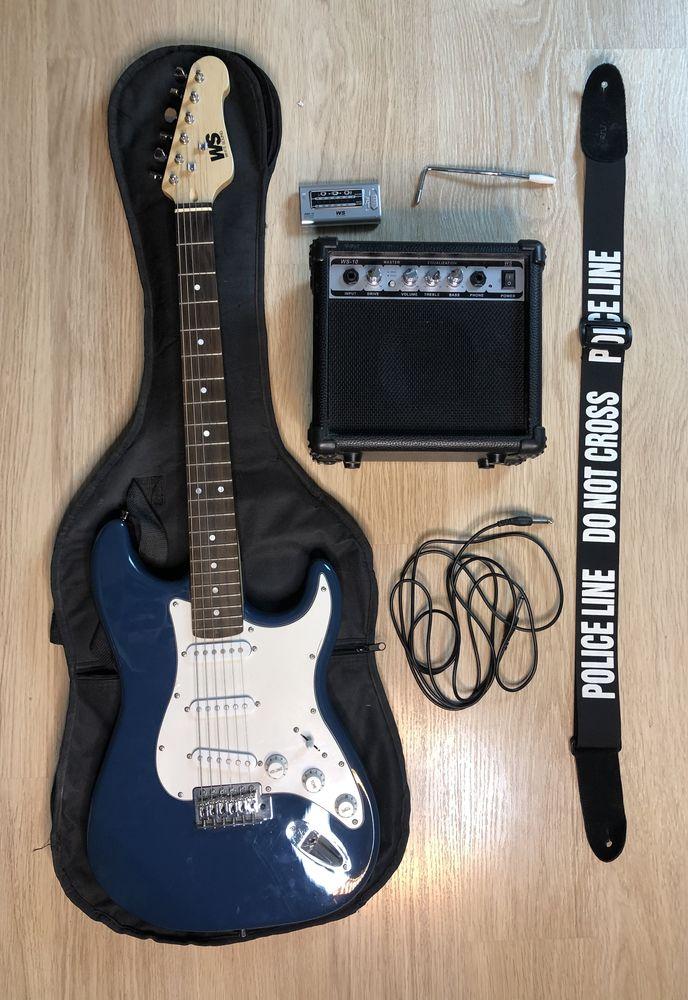 Guitare électrique + kit complet 0 Hénin-Beaumont (62)