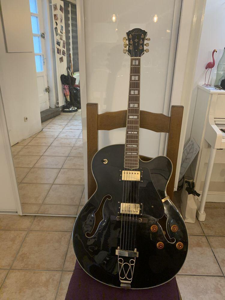 Guitare électrique hollow body Washburn Oscar Schmidt Oe 40 B 300 Bourgoin-Jallieu (38)