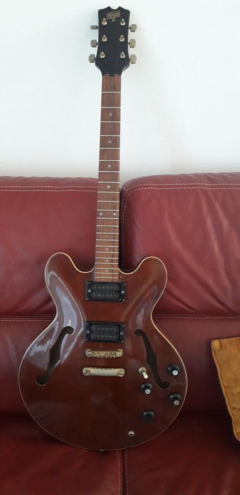 Guitare électrique hondo II ancienne jazz  250 Marseille 15 (13)