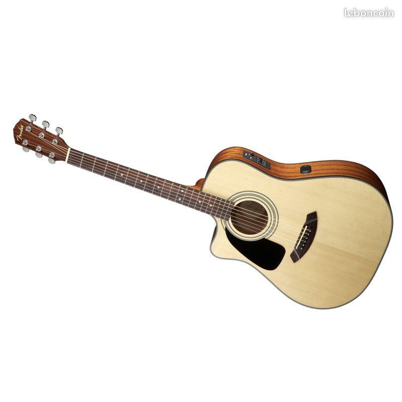 guitare electroacoustique avec tuner FENDER  CD 100-CE 250 Lévis-Saint-Nom (78)