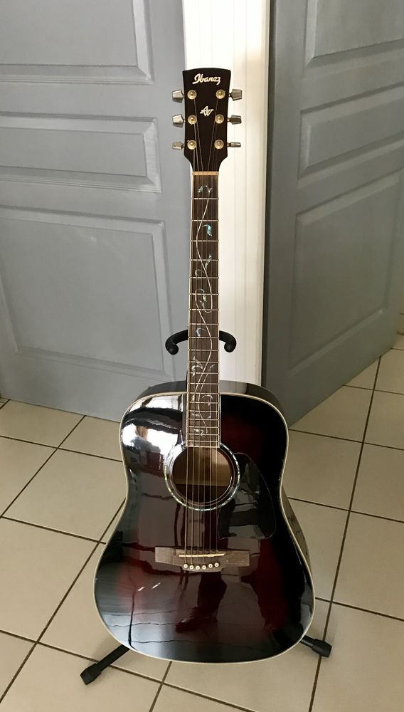 Guitare folk Ibanez Artwood AW40 TCS 230 Bédoin (84)