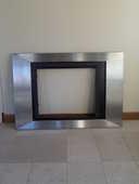 habillage inox pour cheminée à coffrage 150 Fos-sur-Mer (13)