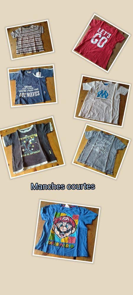 Lot habits garçon 5-6 ans (27 pièces) Occasion Vêtements enfants