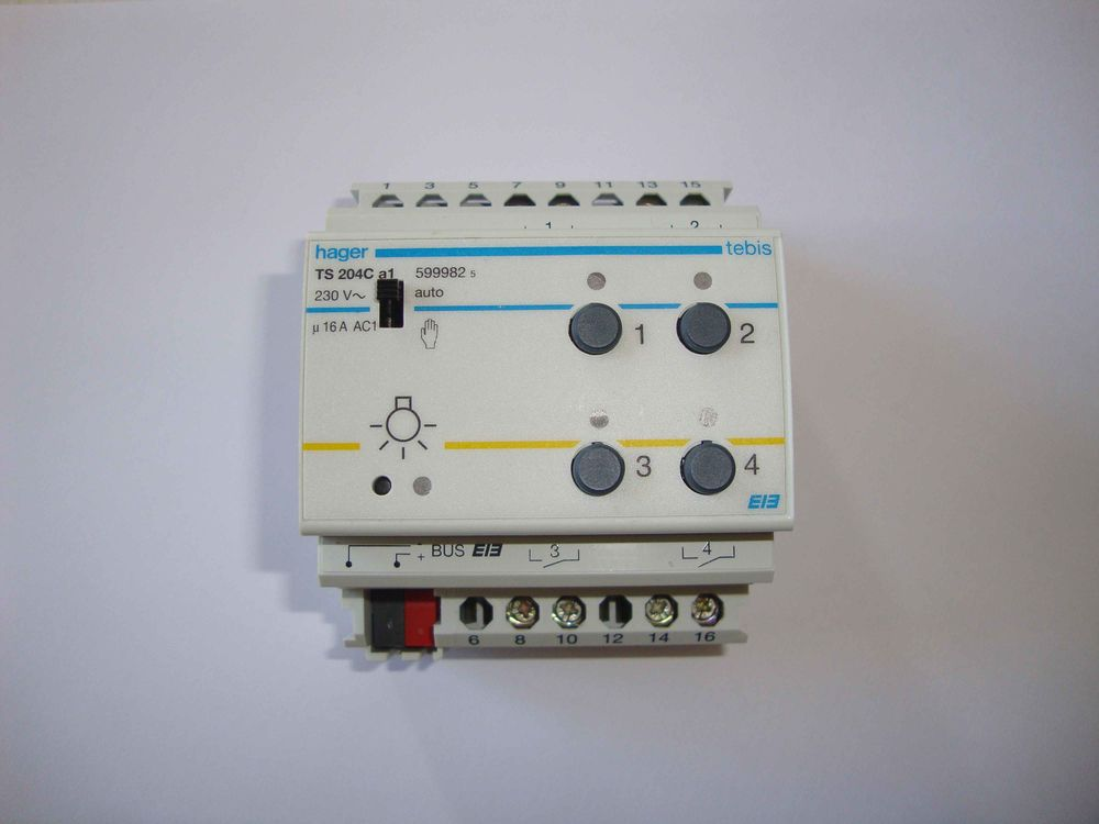 Hager - Tebis TS - TS204C - TS 204 C - Réf: 599982 145 Fouquereuil (62)