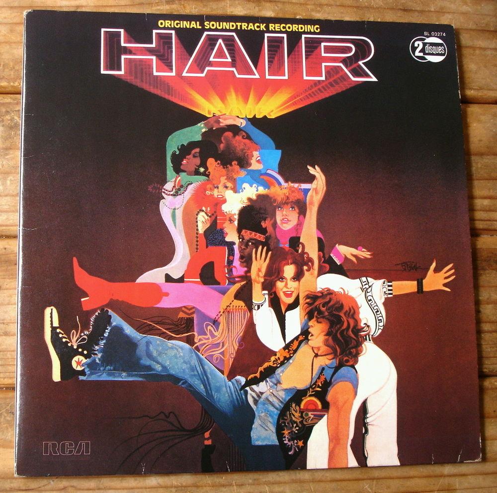 HAIR BOF/OST - 2x33t- Film MILOS FORMAN-John SAVAGE-Fr. 1979 CD et vinyles