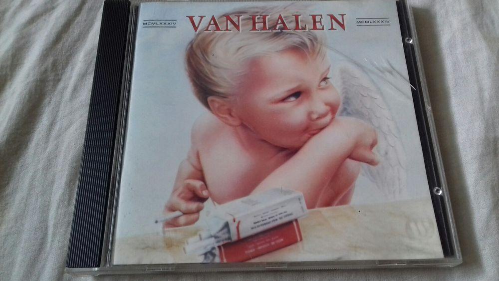 CD de VAN HALEN. Titre de L'album : 1984 5 Marseille 6 (13)