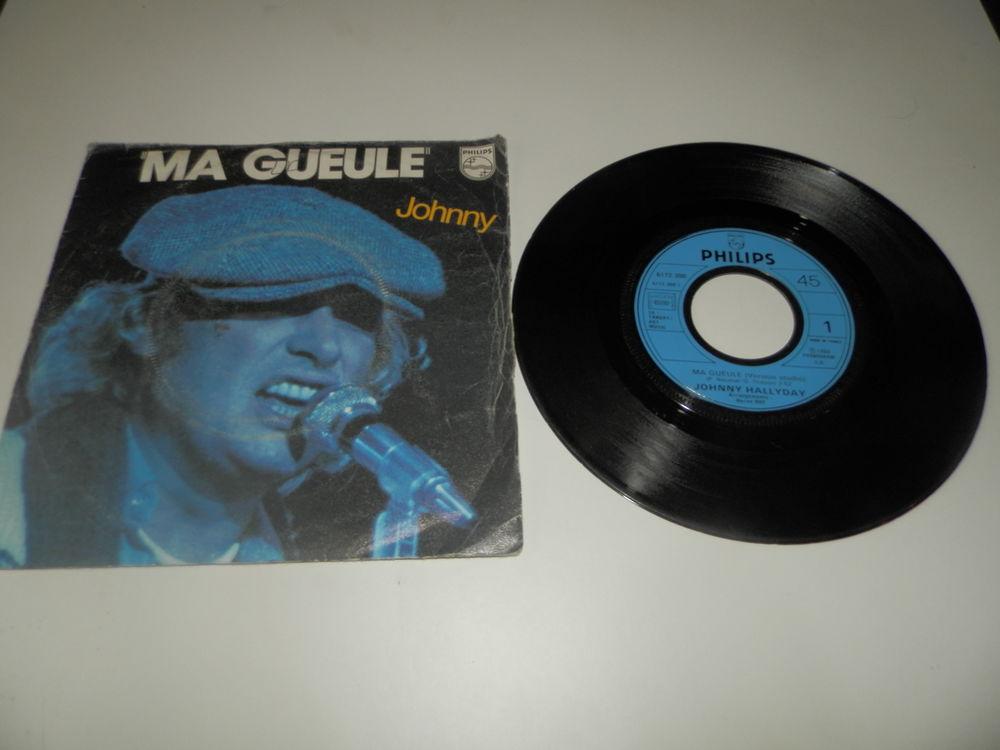 Hallyday Johnny  -  Ma gueule  3 Paris 12 (75)