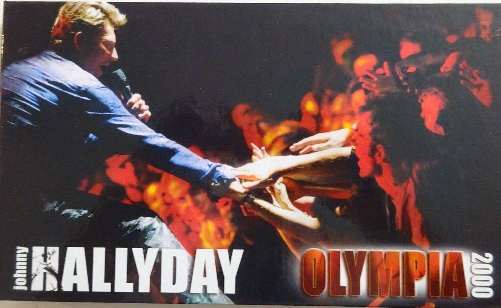 J HALLYDAY : OLYMPIA 2000 [ LONGBOX 2 x CD + LIVRET ] 29 Rodez (12)