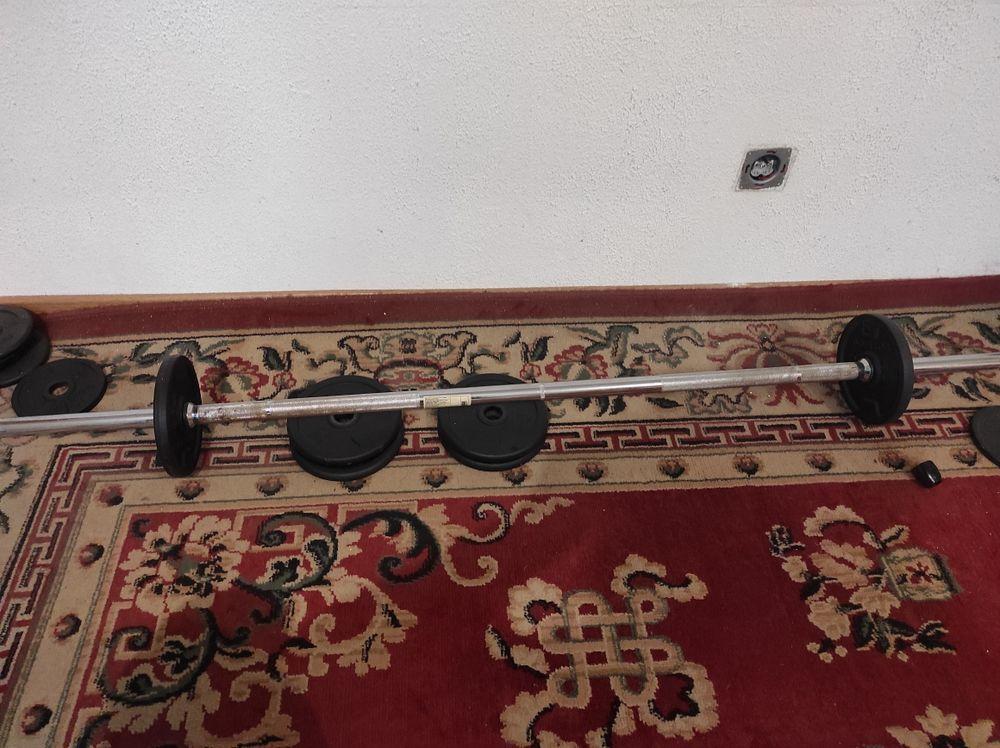 Kit haltères et barre de musculation 55 Franconville (95)