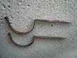 Hampe Crochet de gouttière ancien 2 Boisset-et-Gaujac (30)