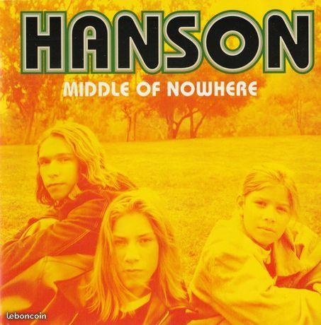 Hanson? Middle Of Nowhere(etat neuf) CD et vinyles