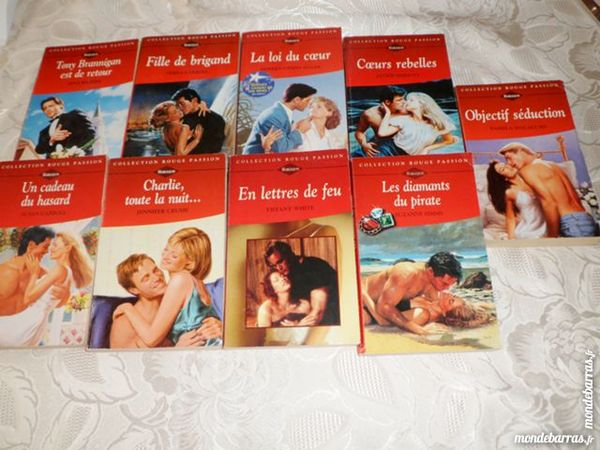 Harlequin /Collection ROUGE PASSION /9 livres 10 Marseille 7 (13)