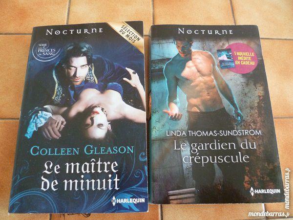 Lot harlequin nocturne vampire loup garou fantasti Livres et BD