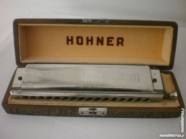 Harmonica HOHNER chromonika III Instruments de musique