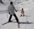 Harnais de ski pour enfants