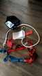Harnais de sécurité antichute et corde à mousquetons