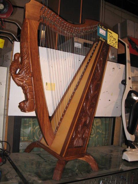 Achetez harpe celtique quasi neuf annonce vente - Housse de harpe celtique ...
