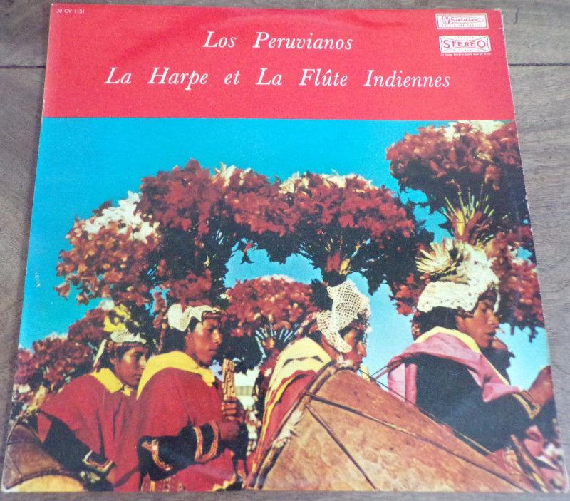 La harpe et la flûte Indiennes vinyle disque 33 tours  9 Laval (53)