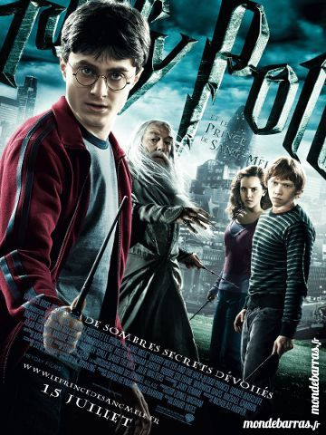 Dvd: Harry Potter et le Prince de sang-mêlé (76) 6 Saint-Quentin (02)
