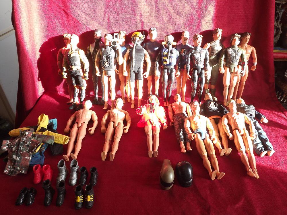 lot Hasbro  / Mattel / Lanard - Personnage Action Man 149 Béziers (34)