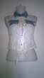 Haut femme transparent Dentelle  et jeans Marque SHK Talange (57)