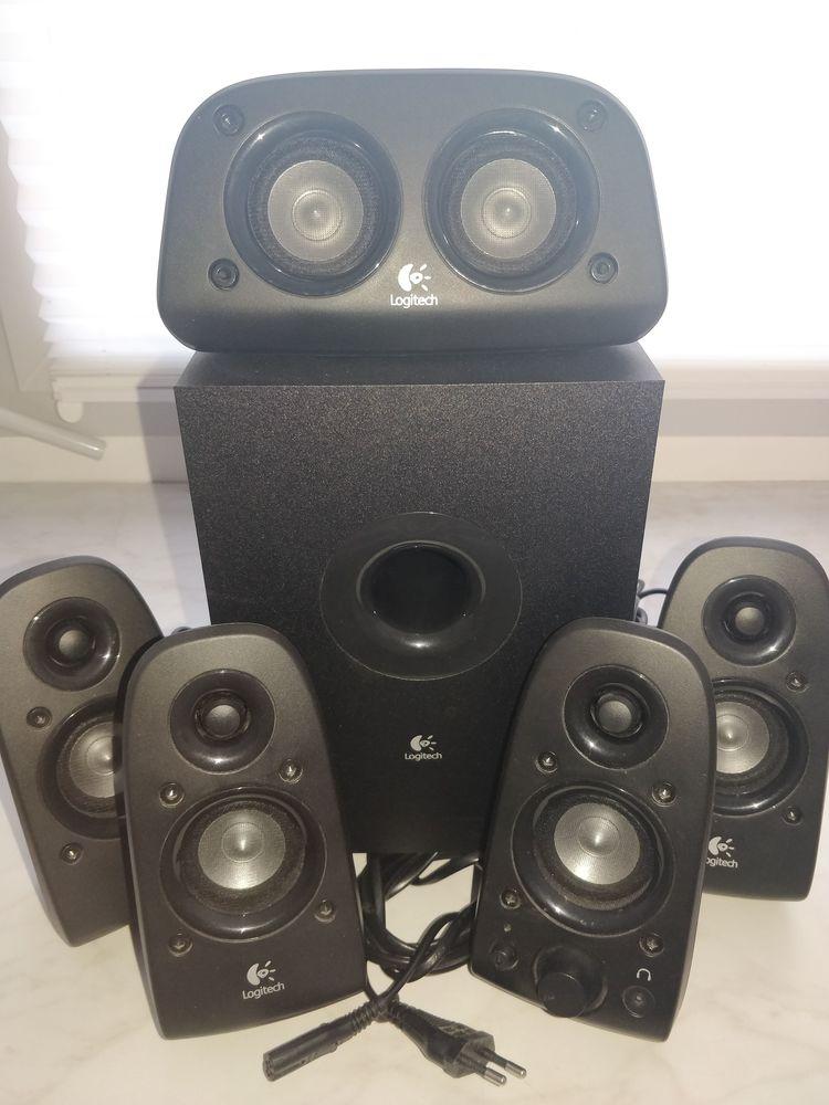 Kit haut-parleurs 5.1 Logitech Z506 Surround Stéréo 3D TBE 45 Lille (59)