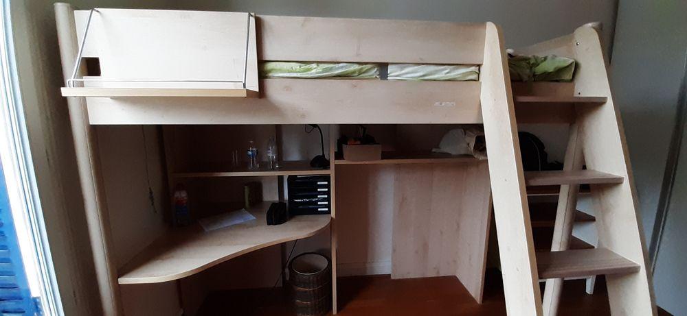 lit en hauteur pour enfant Gautier avec bureau intégré coule 250 Rueil-Malmaison (92)