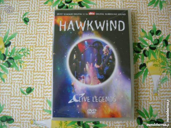 DVD HAWKWIND Live legends Concert des années 70 9 Nantes (44)