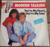 You're my heart , you're my soul disque vinyle  4 Laval (53)